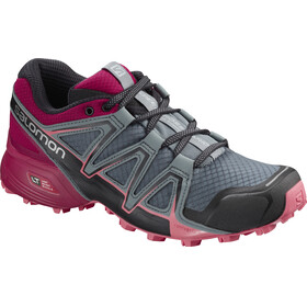 Salomon Speedcross Vario 2 Running Shoes Women grey/red